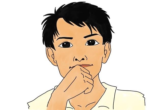 介護福祉士×イラストデザイナーのオリジナル似顔絵