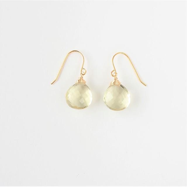 marron pierce / earring 020