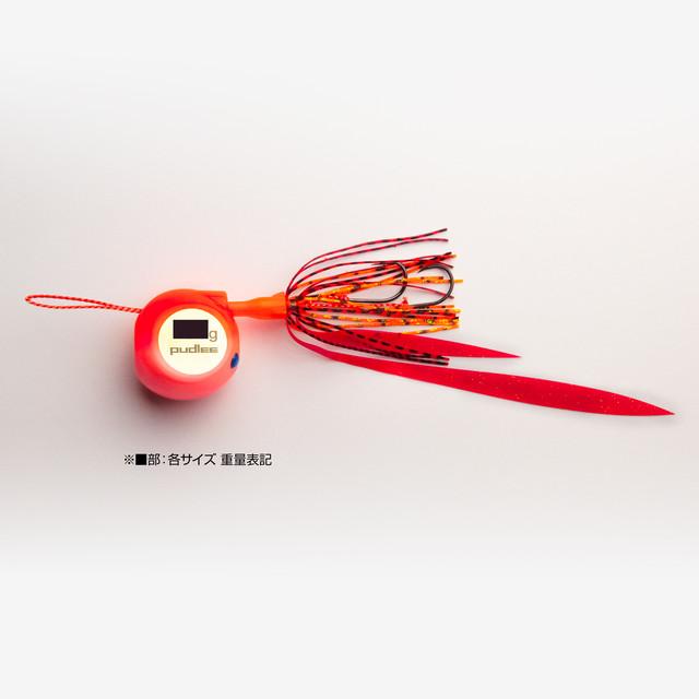 【釣りフェス限定販売】タイラバJET フラットサイド 60gレッドピンク