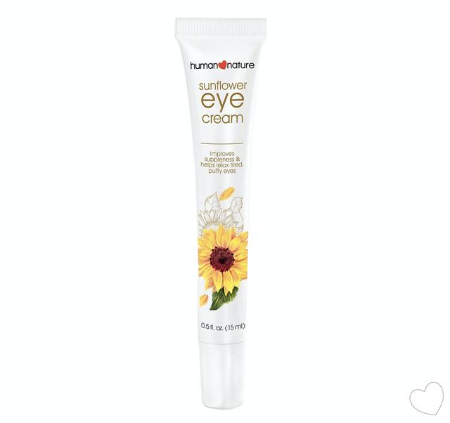 集中ケア:腫れぼったい目と目の下のクマ用Sunflower Eye Cream 15ml