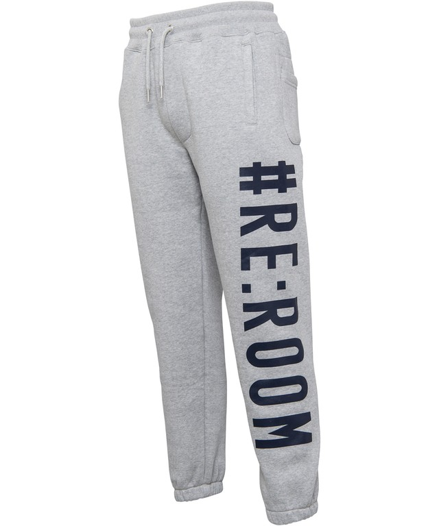 BIG LOGO PRINT RELAX SWEAT PANTS[REP059]