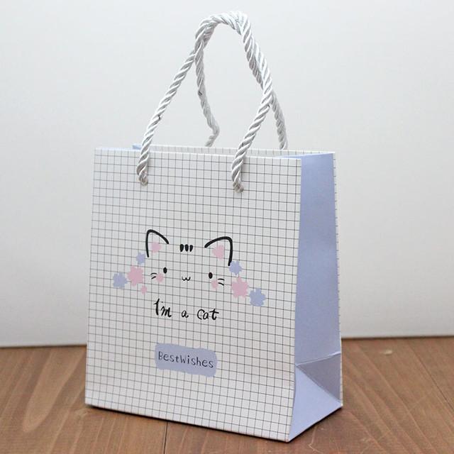 【10枚セット】肉球紙袋(ミニ)