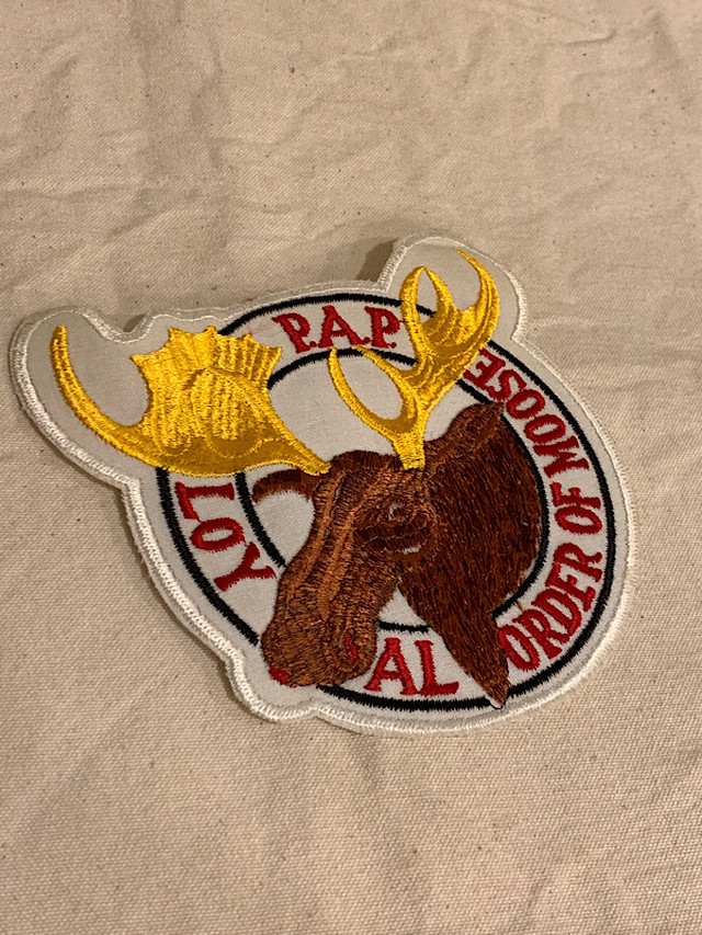 "PATCH "" LOY AL ORDFR OF MOOSE  """
