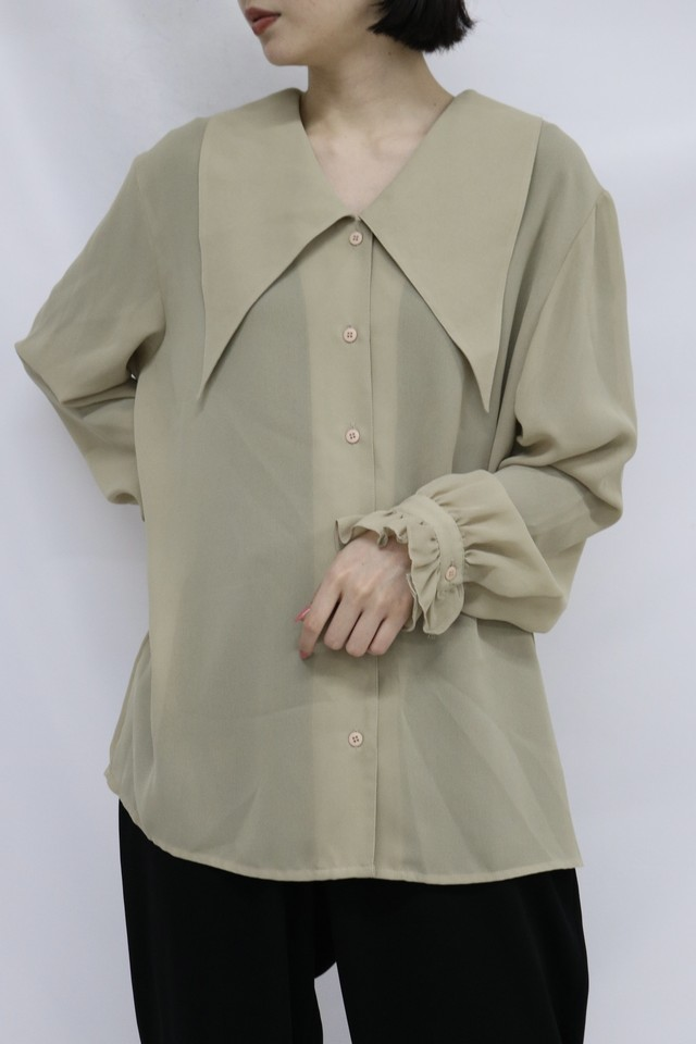 big collar shirt / 5SSTP09-28