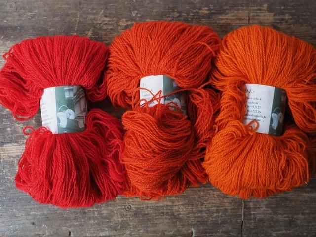 ラトビアの毛糸B
