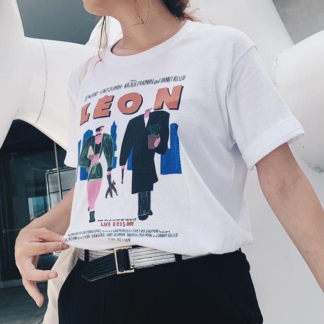 LEONモチーフTシャツ