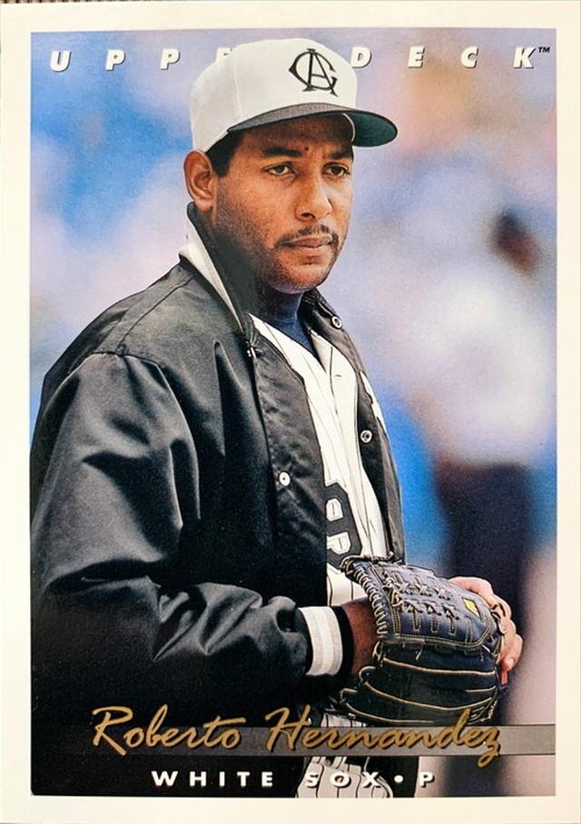 MLBカード 93UPPERDECK Roberto Hernandez #352 WHITE SOX