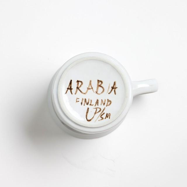 ARABIA アラビア Rosmarin ロスマリン 80mm ラージマグカップ - 7 北欧ヴィンテージ