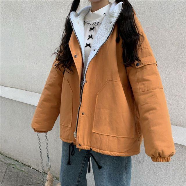 アウター レディース コート ジャケット マウンテンパーカー マンパ フード付き 長袖 オーバーサイズ Bigサイズ ゆったり カジュアル 大人カジュアル シンプル アウトドア 秋冬 OT-0170-y