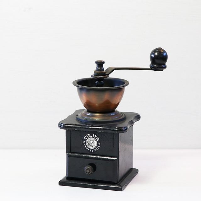【R-143】CELITA コーヒーミル BLACK