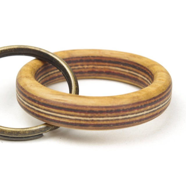 horisontal stripe wooden ring WR-NA