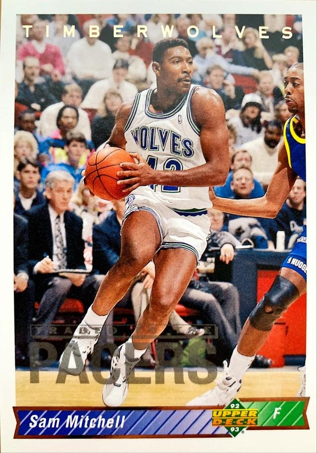 NBAカード 92-93UPPERDECK Sam Mitchell #188 TIMBERWOLVES