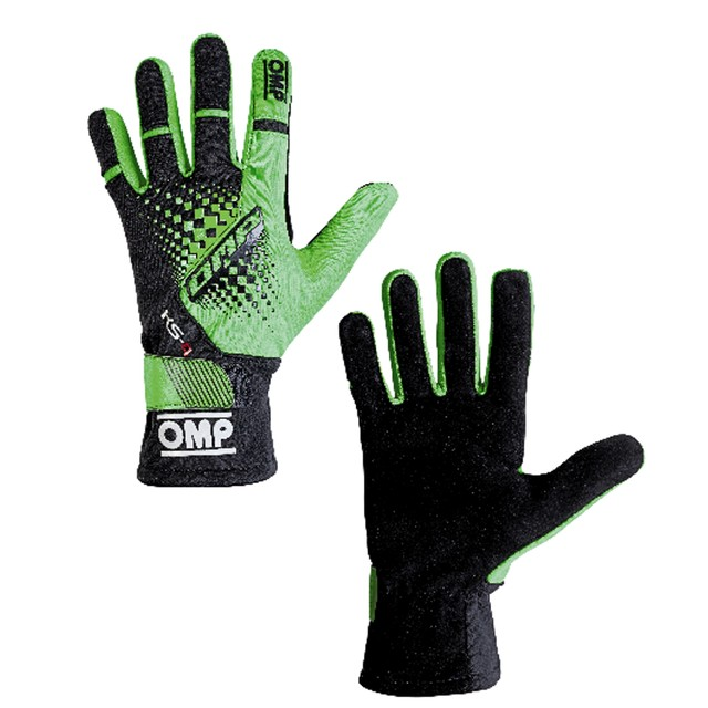 KK02744E231  KS-4 Gloves (Fluo green/black)