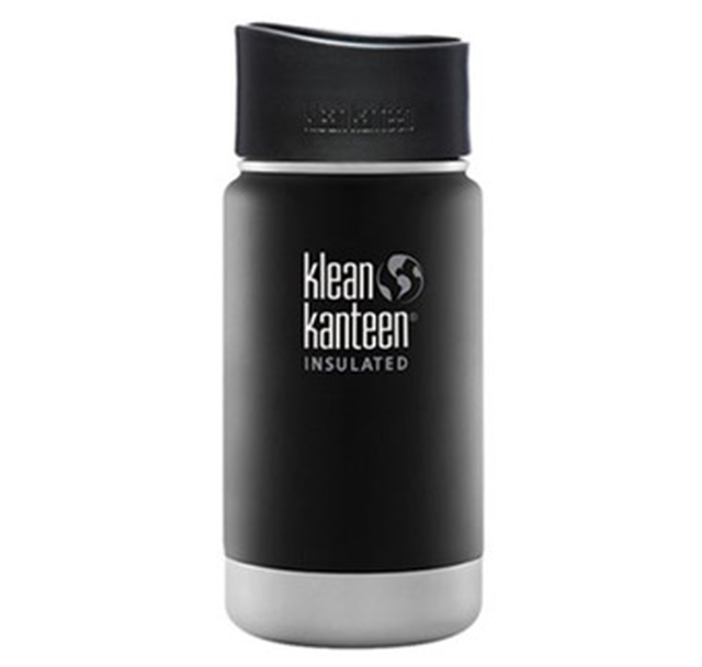 Klean Kanteen ワイドインスレートボトルカフェキャップ2.0 12oz ステンレス