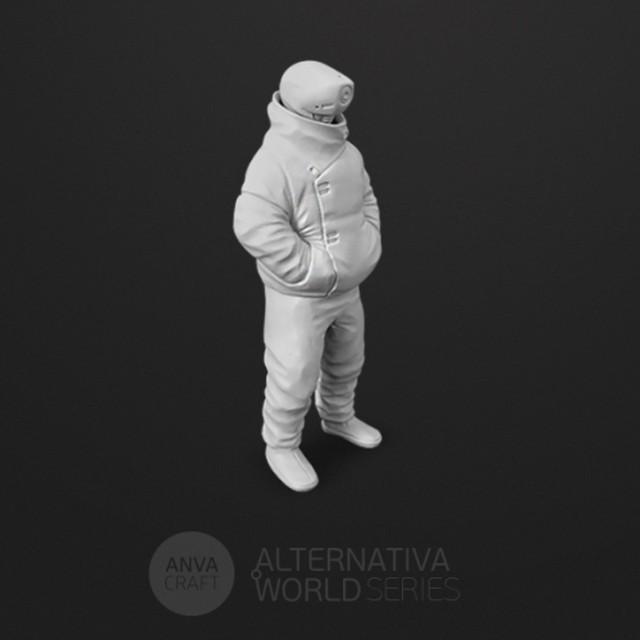 ANVA CRAFT ALTERNARIVA WORLD CITIZEN 01 - 1/20 resin model kit