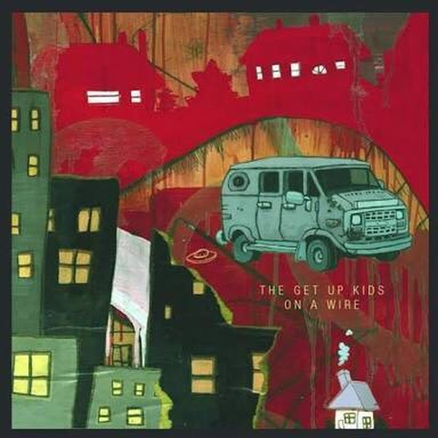 【USED】The Get Up Kids ‎/ On A Wire