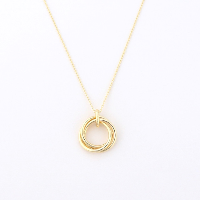 Lien union necklace