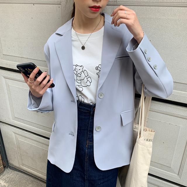 〈カフェシリーズ〉春のミルクソーダスーツジャケット