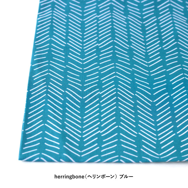 "Scandinavian Handkerchief ""herringbone""【ANGERS Original】"
