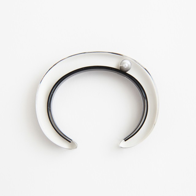 JUTIQU/Timeless Bangle 6_10mm zirconia×4