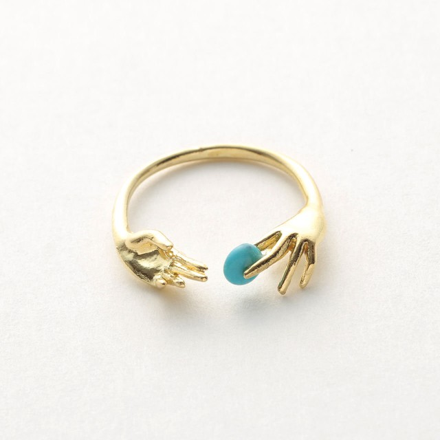 【Aquvii】  Throw into the sea ring 〈Gold〉