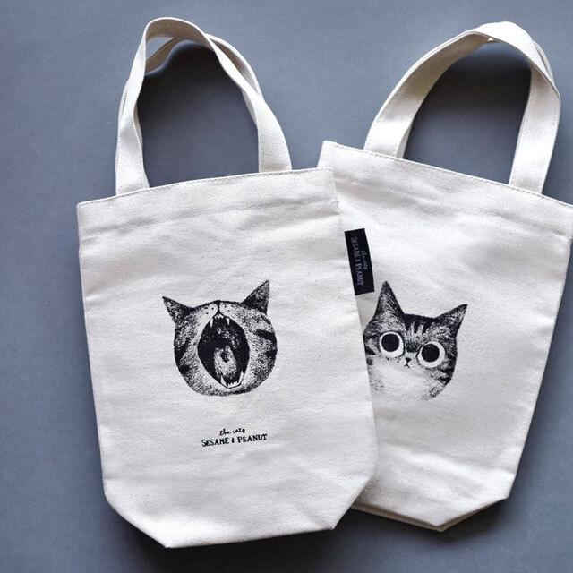 ドリンクホルダー カップバッグ 猫「おなら」