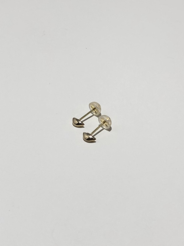<受注生産>tsubu pierce gold K18