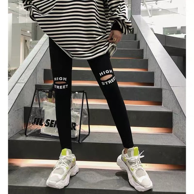 【完全予約販売】high street leggings