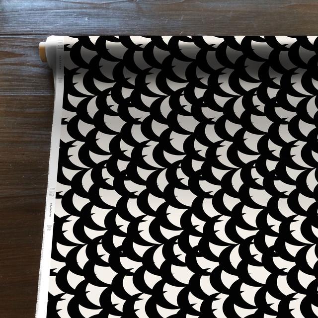 MountainWind(黒)[50cm×150cm]cotton100%
