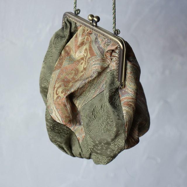 在庫ございます【Malion vintage】gamaguchi bag-B