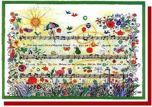 「いざゆけ野山に」 / 讃美歌 グリーティングカード