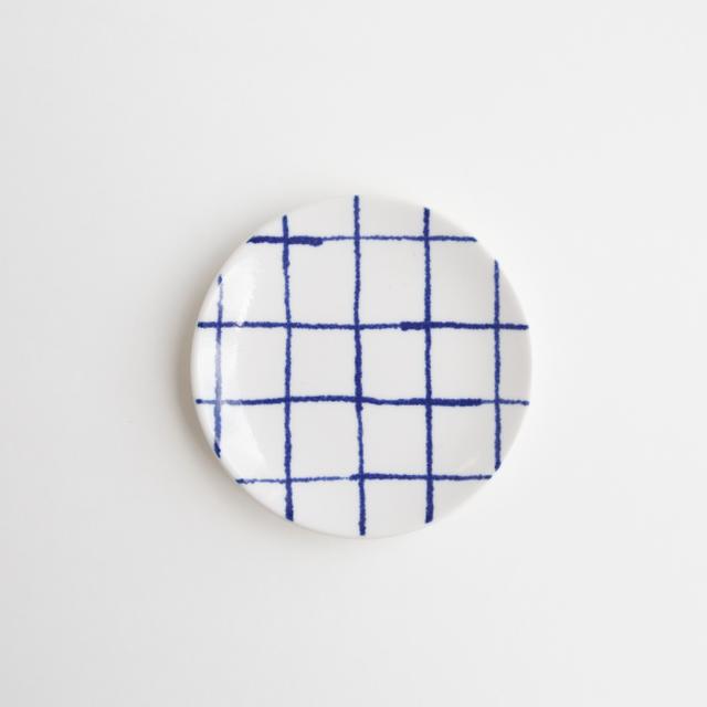 豆皿(瀬戸焼)/ チェック【Marianne Hallberg(マリアンヌ・ハルバーグ)】 北欧ブランド 日本製