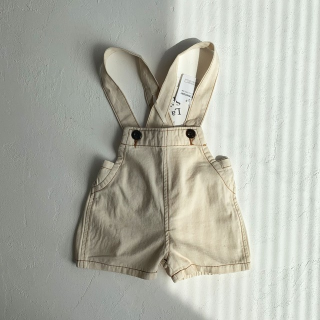 Denim short overalls (ボトムス)  La stella