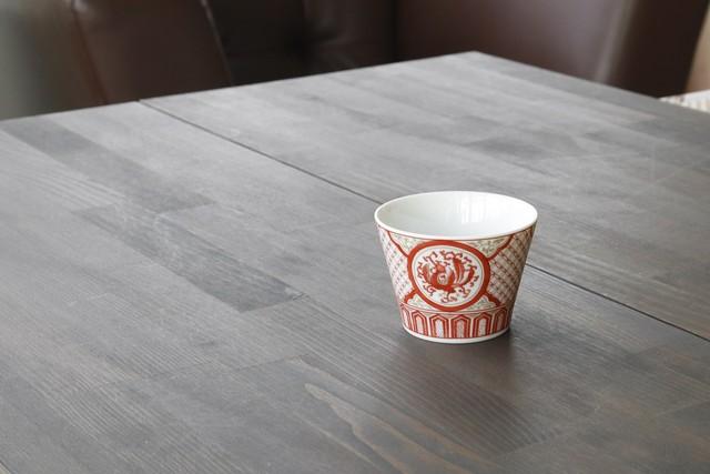 九谷十趣杯 赤絵  〈 AKAE 〉    *丸モ高木陶器* お酒をより楽しむためのおしゃれな酒器!