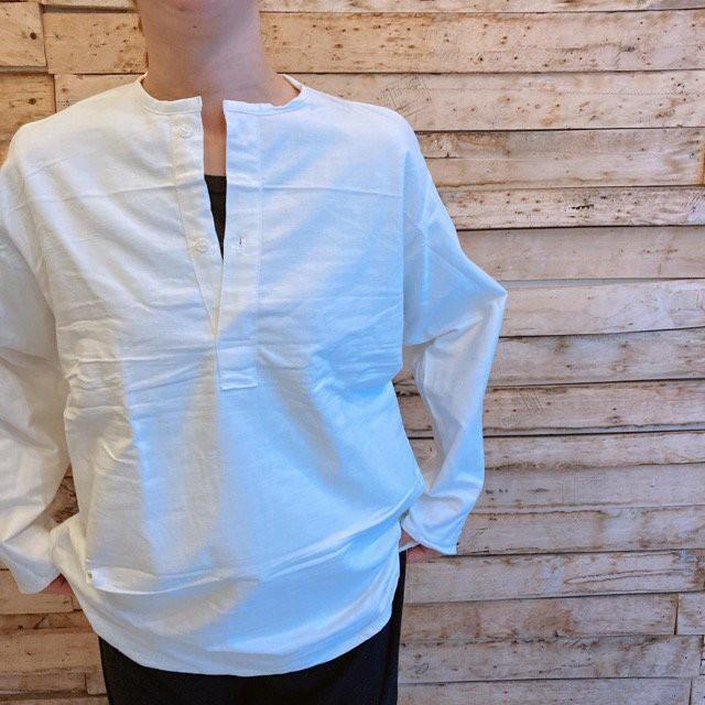 ロシア スリーピングシャツ ホワイト