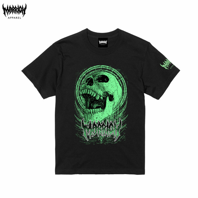 Bangsart × Marrion Apparel Tee (Black×Green)