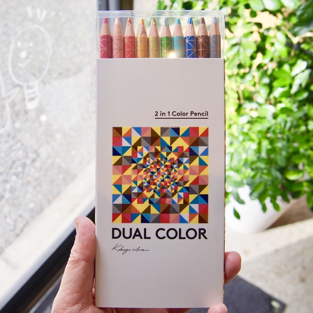 DUAL COLOR 色鉛筆 10色セット