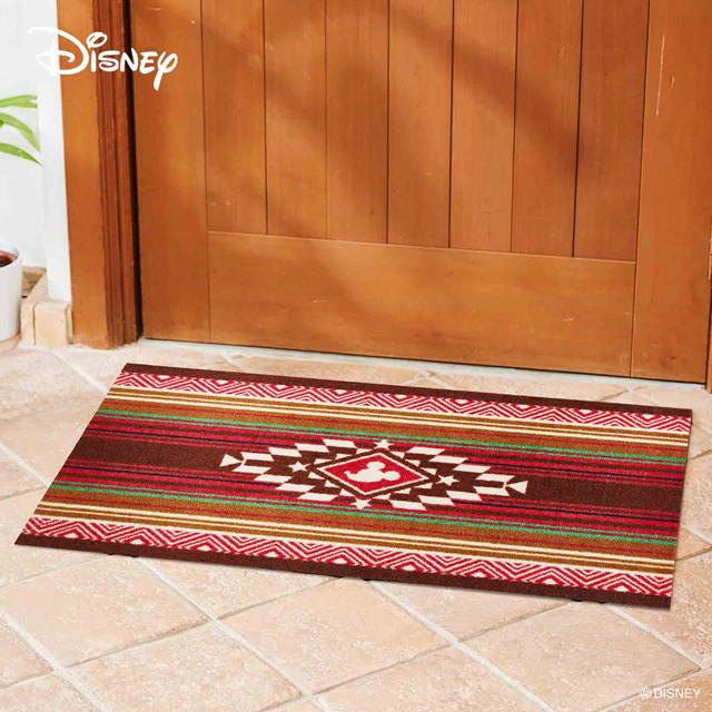 Mickey/ミッキー キリム レッド 60 × 90 cm 【Disney Mat collection】