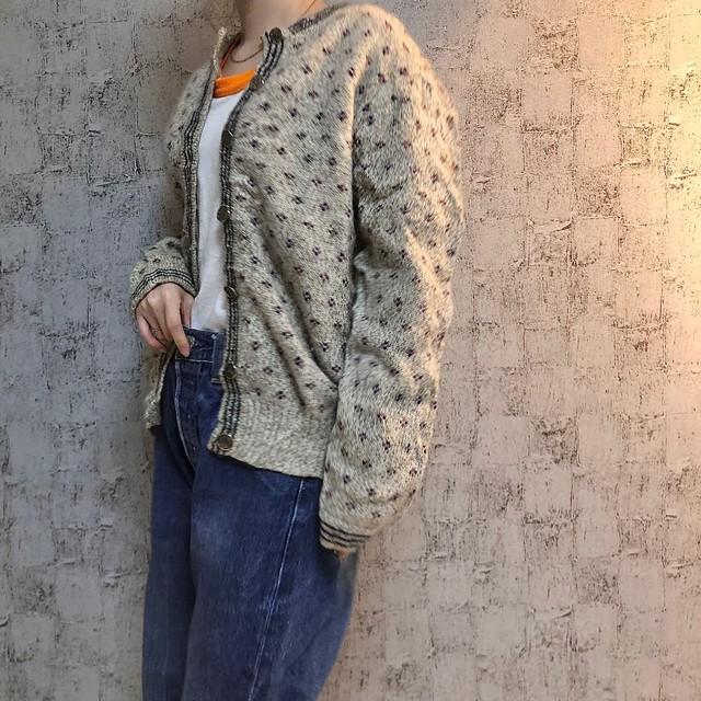 80~90s Eddie Bauer knit cardigan