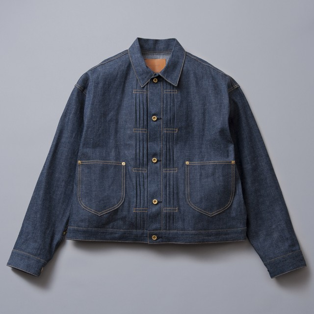 "[SOLARIS&CO.] 10oz denim jacket ""2600"""
