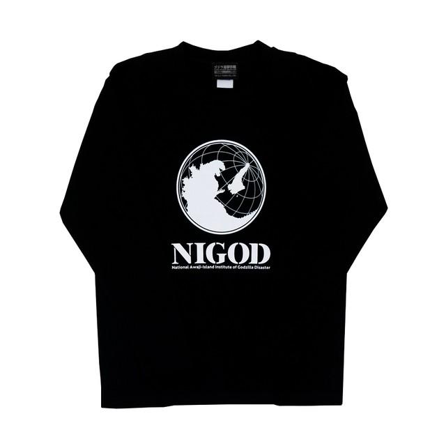 【ニジゲンノモリ限定商品】長袖Tシャツ(NIGOD)黒 M