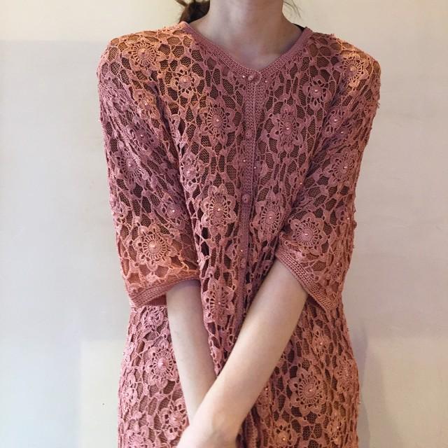 vintage lace cardigan