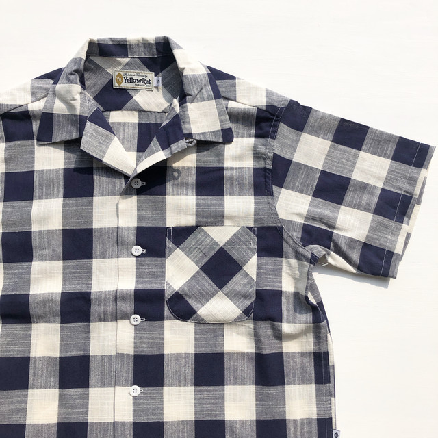 "Yellow Rat ""Round Collar S/S Open Shirts"""