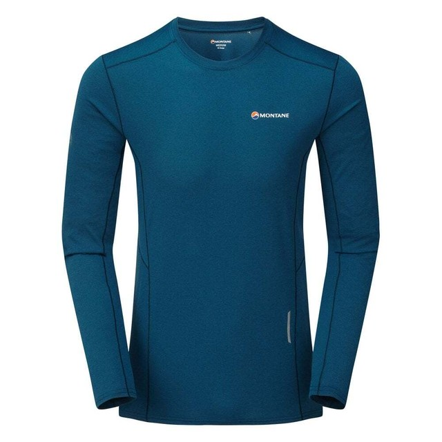 MONTANE(モンテイン) Men's Dart Long Sleeve T-shirt オリオンブルー GMDLTSM