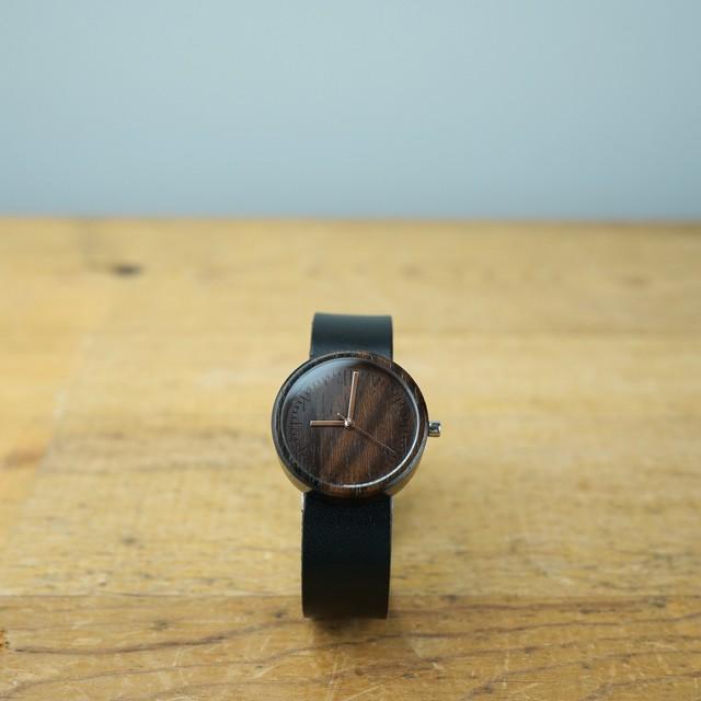 シャムガキ Ebony wood - Organic leather - M
