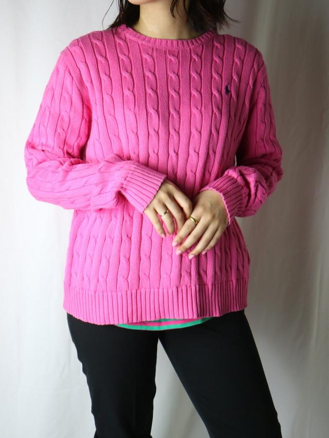 """""""POLO Ralph Lauren"""" cotton knit【5613】"""