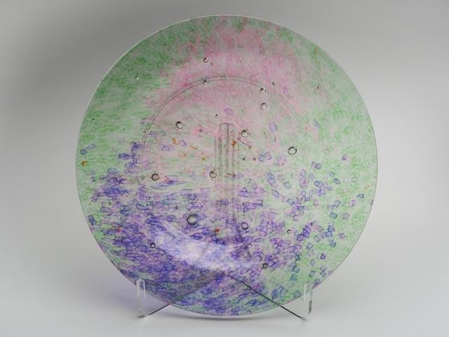 平皿-CL(紫×緑)fp-cl-1