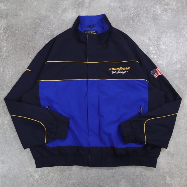 embroidery Racing blouson