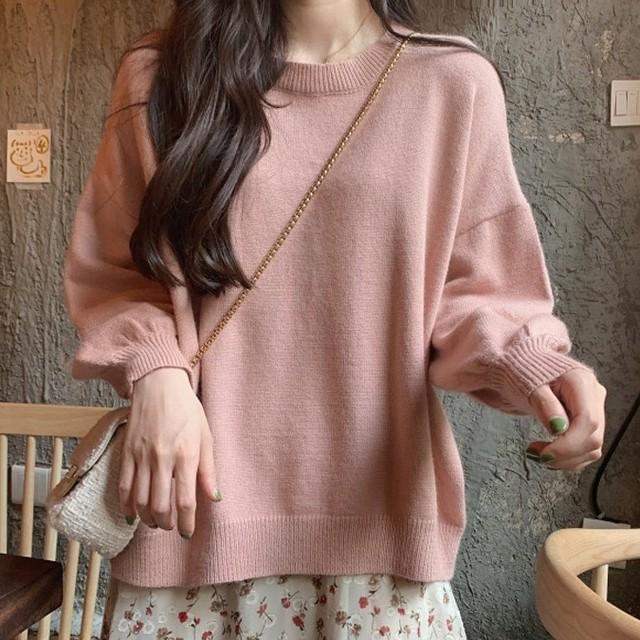 【tops】お流行り気質アップ着やせ薄型セーター