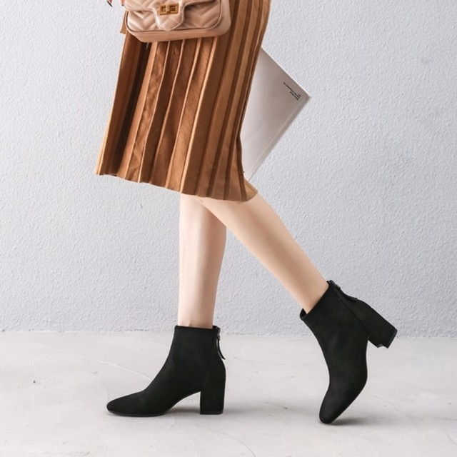 Suede Boots T581